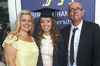 HarrietDunn and parents